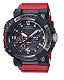 Casio GWFA1000-1A4 Frogman - Reloj de pulsera para hombre, 56,7 mm, carbono, acero inoxidable, color rojo