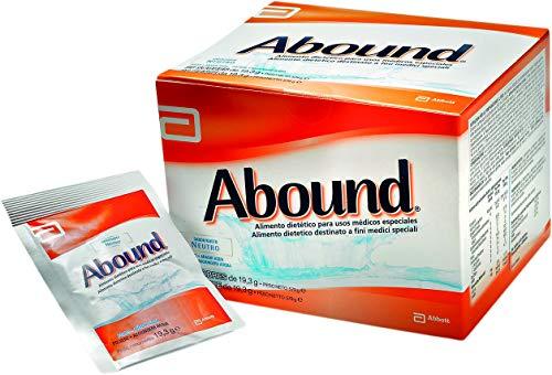 Abound Aminoacidi e HMB | Miscela di Aminoacidi con Arginina, Glutammina e HMB | Bustine in Polvere, senza Glutine, senza Lattosio | Gusto Neutro | Confezione 30 x 24 g