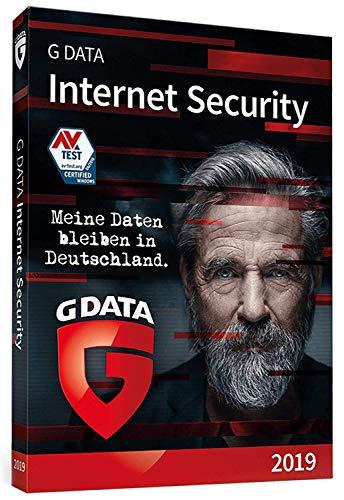 G DATA Internet Security 2019 | Antivirus | 3 PCs Standard - 1 Jahr | Windows | Trust in German Sicherheit | Aktivierungscode in Standardverpackung + DVD