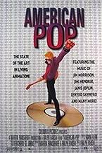 American POP Video Animation 27x40 Original Movie Poster Music of Jimi Hendrix