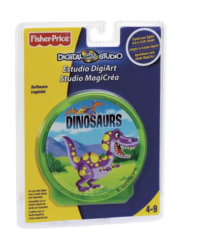 Fisher-Price - Jeux électronique - Pack Dino Studio - Recharge