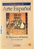 EL BARROCO EFIMERO HISTORIA 16