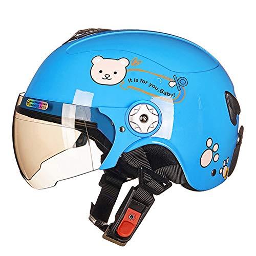 Casco de Moto Bici para Niños Casco De Bici para Niños Y...