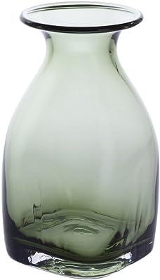 Dartington, Cristal, Vert Olive, 9.5 x 9.5 x 18 cm