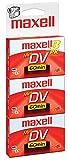 Maxell 298016 Mini DV Cassettes 3 Count