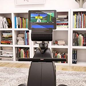 Sportstech RSX400 Rudergerät -Deutsche Qualitätsmarke -Video Events & Multiplayer APP, Pulsgurt inkl. –Rudermaschine für Ihr Zuhause, klappbar mit 8fach Magnetwiderstand und kugelgelagertem Sitz