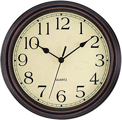 battery wall clock - 2