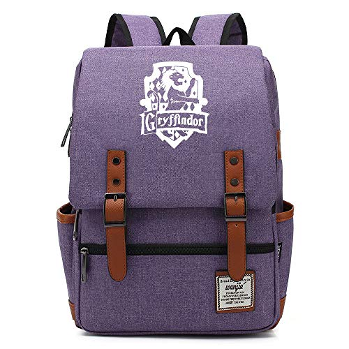 Harry P Gryffindor Daypack, College School Backpack for Men Women Kids Outdoor Camping Hiking Travel Daypack 16 inches. Color-18.