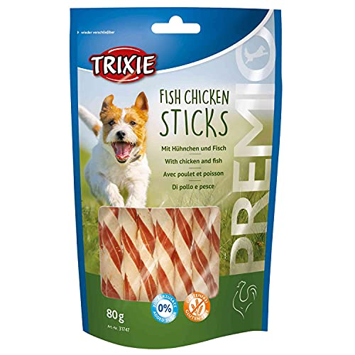 Trixie premio Fish Chicken - Sticks per cani, 80 g