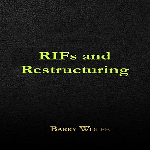 RIFs and Restructuring audiobook cover art