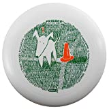 Wham-O UMAX Dog with Cone 175g Ultimate Frisbee Disc [Colors May Vary]