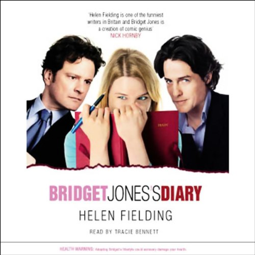 Bridget Jones's Diary audiobook cover art