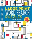 Large Print Word Search Puzzles 4 (Volume 4)