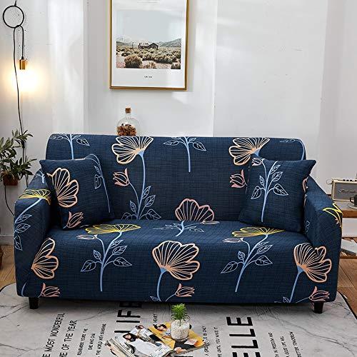 Fundas protectoras de sofá para sala de estar, elásticas, seccionales, esquineras, fundas de sofá A24 de 3 plazas