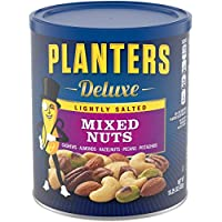 Planters Deluxe Lightly Salted Mixed Nuts 15.25 Oz