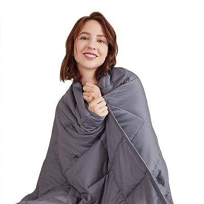 Hiseeme Best Weighted Blanket 10 lbs   48''x72'...