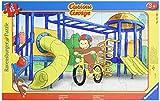 Ravensburger Puzzle- Curious George Puzzle Incorniciato, Multicolore, 05102 1...