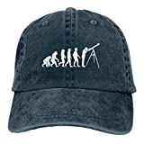 Sendyniu5 Astronomy Evolution Denim Hats Baseball Cap Dad Hat