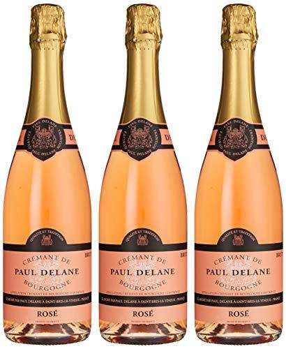 Paul Delane Crémant de Bourgogne Rosé Brut (3 x 0,75l)