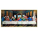"""Pintura famosa """"La última cena"""", carteles e impresiones artísticos, pintura en lienzo, arte de pared..."""