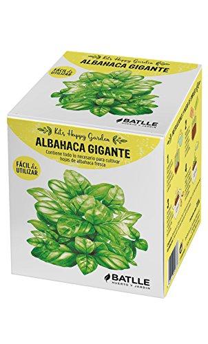 Huerto Urbano - Kit Happy Garden Albahaca Gigante - Batlle