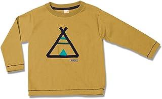 Camiseta de Manga Longa Cabana Amarelo Green - Toddler Menino