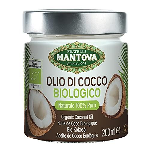 Olio di Cocco Biologico Delicato - 200 ml - 100% Naturale &...