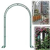 LZPQ Arco De Metal para Rosales, Arco para Enredaderas, para Plantas Soporte Rosas Escalada Archway Jardín Decoración Y
