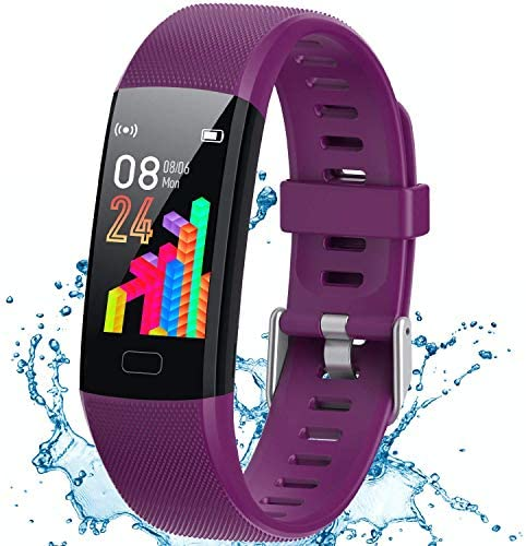 Inspiratek Kids Fitness Tracker for Girls and Boys Age 5 16 Waterproof Fitness Watch for Kids product image