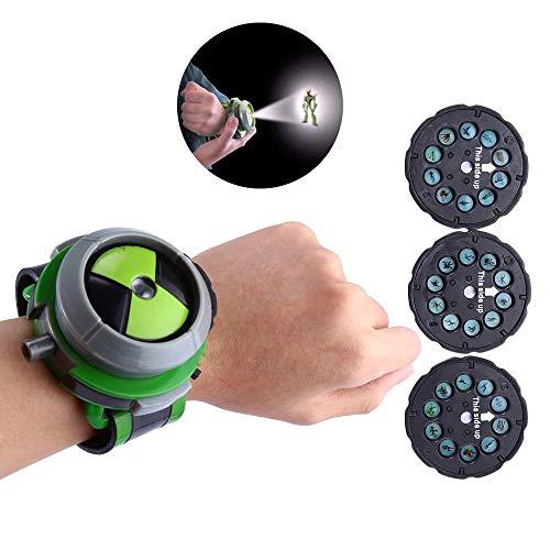 Orologio giocattolo con proiettore, Slider per bambini, regalo di Natale per Ben 10