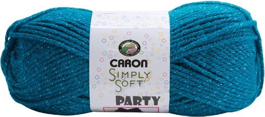 Caron - Simply Soft Party Yarn-Teal Sparkle