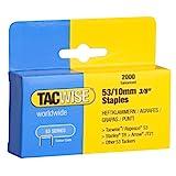 Tacwise 0336 - Caja 2000 grapas galvanizadas 53/10mm