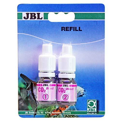 JBL 2541700 Nachfüller für Schnelltest zur Bestimmung, Kohlendioxidgehalts in Süßwasser Aquarien