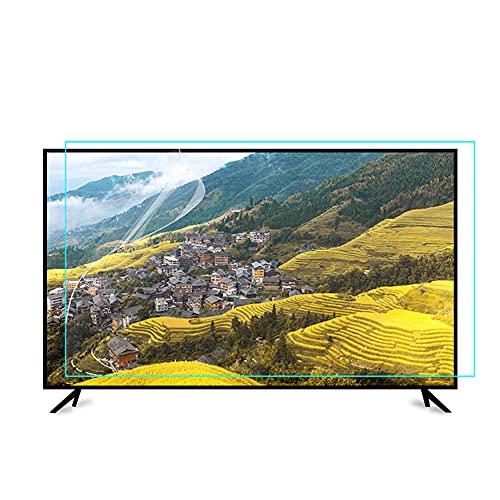 Protector de pantalla de TV de luz anti azul Anti deslumbramiento LCD Pantalla Pantalla Película Relieve Fatiga ocular Ultra-Clear y Ayude a dormir mejor, para una pantalla de 65-75 pulgadas,75inch