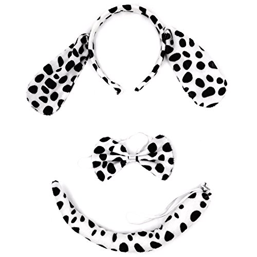 Kinzd Kids Mouse Dalmatian Antlers Wolf Tiger Party Halloween Christmas Costume