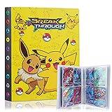 Pokemon Carte Album, GUBOOM Album Pokemon, Figurina Carte Album, Raccoglitore Carte Pokémon, Porta Carte Pokemon Album per Carte Pokemon GX Ex, capacità di 30 Pagine 240 Carte