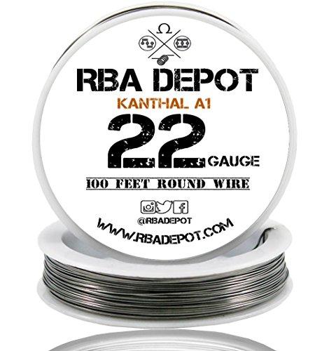 [RBA DEPOT] 100ft - 22 Gauge AWG KA1 FeCrAl Alloy Kanthal Resistance Wire A1
