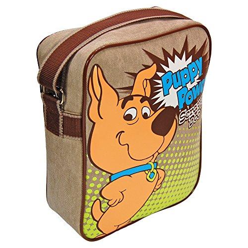 Officially Licensed Scrappy Doo Puppy Power Flight Bag - Classic 80s Scooby Doo cartoon merchandise.