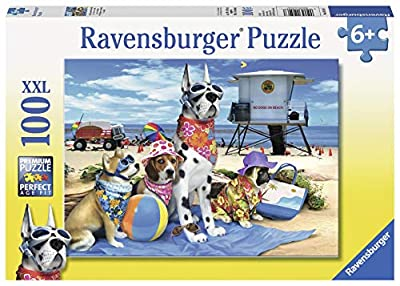 Ravensburger No Dogs on The Beach 100 Piece Jigsaw Puzzle for Kids – Every Piece is Unique, Pieces Fit Together Perfectly