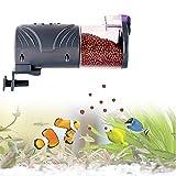 Petilleur Distributeur Automatique de Nourriture pour Poissons Distributeur Nourriture pour Poissons Aquarium et Tortue Pendant Vacances/Déplacement (A)
