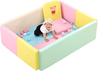 Baby Playpens  Foldable Park Fence  Safe Toys for Children Crawling Mat Fence Green Home Software Suitable for 0-3 Years Old Baby