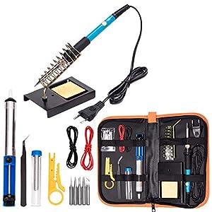Electrónica del kit de soldador, herramienta de soldadura de temperatura