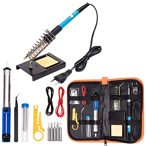 Electrónica del kit de soldador, herramienta de soldadura d