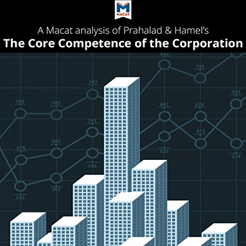 A Macat Analysis of C. K. Prahalad and Gary Hamel's The Core Competence of the Corporation audiobook cover art