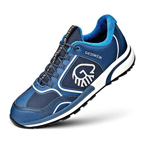 GIESSWEIN Sportschuh Wool Cross X Men - rutschfeste Herren Outdoor-Schuhe aus Merinowolle, Atmungsaktive Trekking-Schuhe mit Micro-Grip Sohle