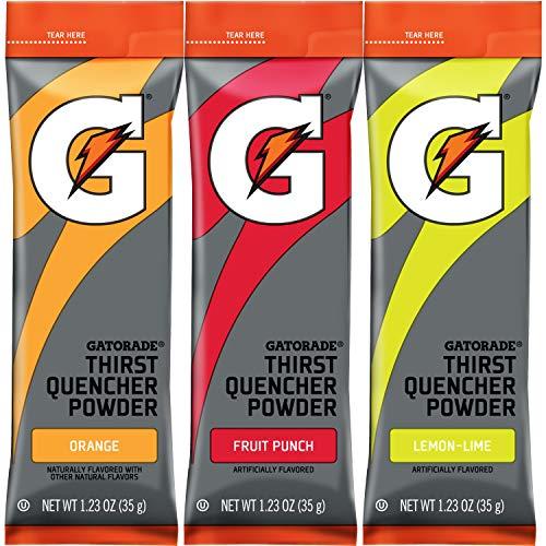 Gatorade Thirst Quencher Powder Sticks, 3 Flavor Variety Pack, (30 Pack)