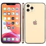 Modelo falso de teléfono falso, pantalla falsa, juguete de teléfono de réplica, compatible con iPhone (Gold iPhone 11 Pro Max)