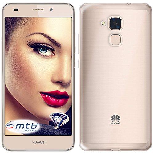 mtb more energy® Schutz-Hülle Clear und Slim für Huawei GT3 / Honor 5C / Honor 7 Lite (5.2'') - transparent - flexibel - TPU Silikon Case Cover Tasche