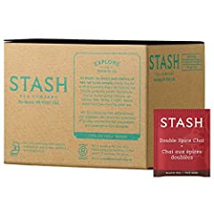 Contains 100 individually foil-wrapped tea bags We've doubled the spices ofclove, cinnamon and cardamomfor a spicier blend Convenient packaging forfoodservice settings such as restaurants, cafes, self-service and coffee stations Bulk packaging is gre...