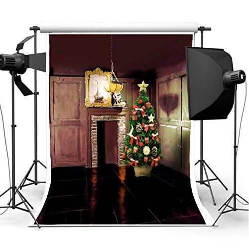 MASUNN 7X5Ft Kerst Closet Fotografie Backdrop Vinyl Studio Achtergrond foto Props